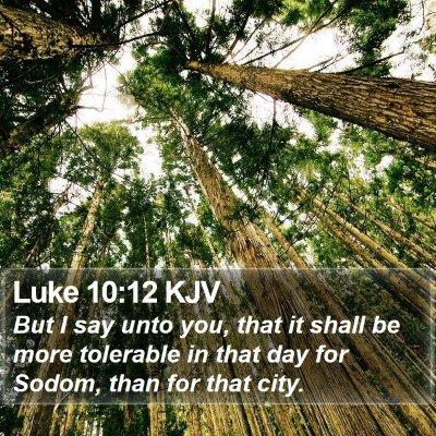 Luke 10:12 KJV Bible Verse Image