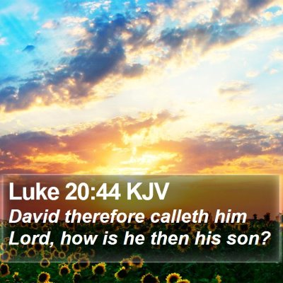 Luke 20:44 KJV Bible Verse Image