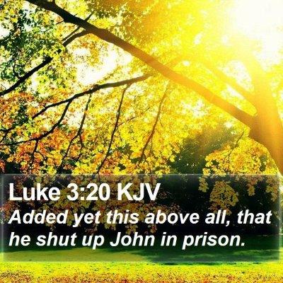 Luke 3:20 KJV Bible Verse Image