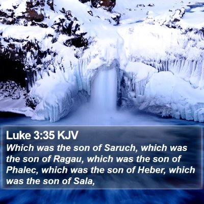 Luke 3:35 KJV Bible Verse Image