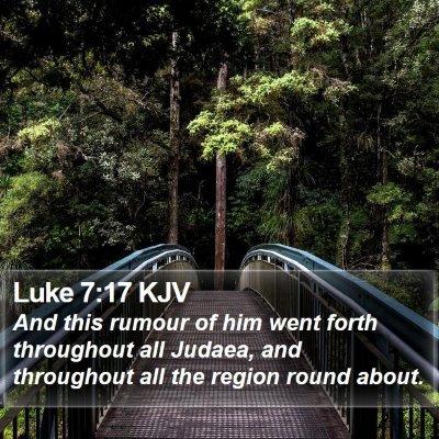 Luke 7:17 KJV Bible Verse Image