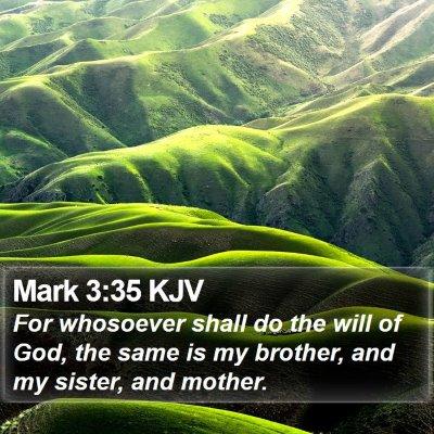 Mark 3:35 KJV Bible Verse Image