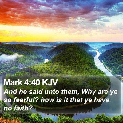 Mark 4:40 KJV Bible Verse Image