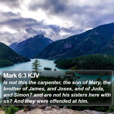 Mark 6:3 KJV Bible Verse Image
