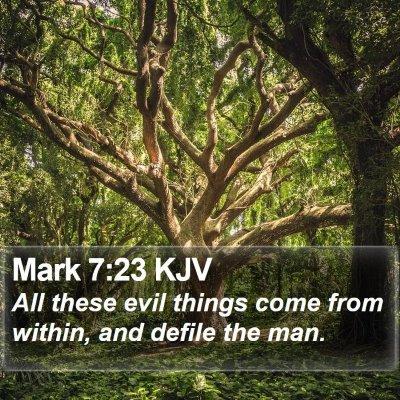 Mark 7:23 KJV Bible Verse Image