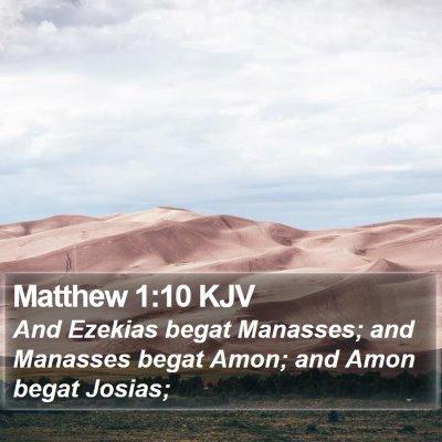 Matthew 1:10 KJV Bible Verse Image