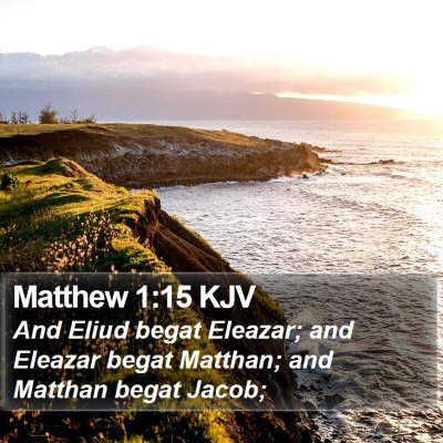 Matthew 1:15 KJV Bible Verse Image