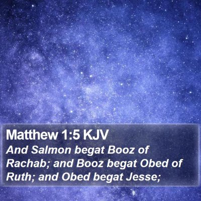 Matthew 1:5 KJV Bible Verse Image