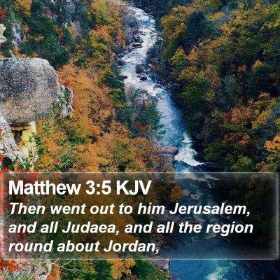 Matthew 3:5 KJV Bible Verse Image
