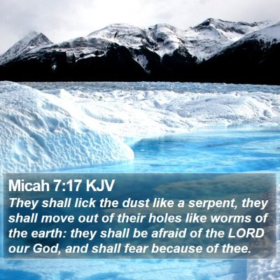 Micah 7:17 KJV Bible Verse Image