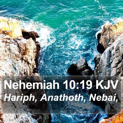 Nehemiah 10:19 KJV Bible Verse Image
