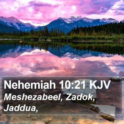 Nehemiah 10:21 KJV Bible Verse Image