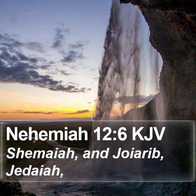 Nehemiah 12:6 KJV Bible Verse Image