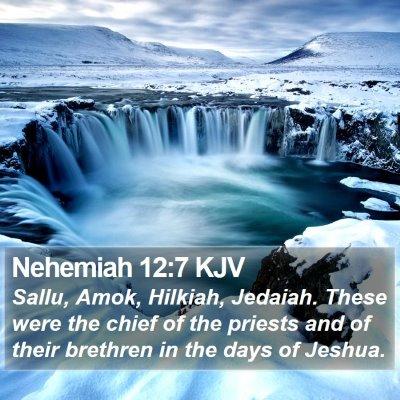 Nehemiah 12:7 KJV Bible Verse Image