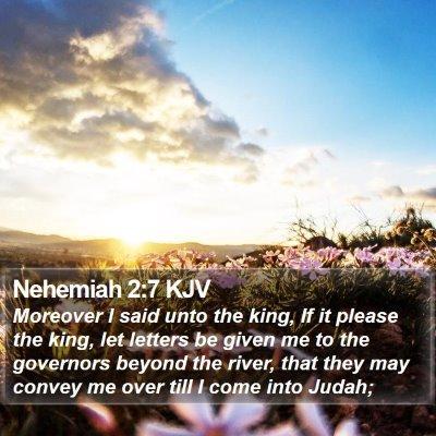 Nehemiah 2:7 KJV Bible Verse Image
