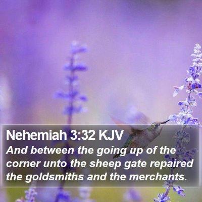 Nehemiah 3:32 KJV Bible Verse Image
