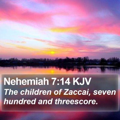Nehemiah 7:14 KJV Bible Verse Image