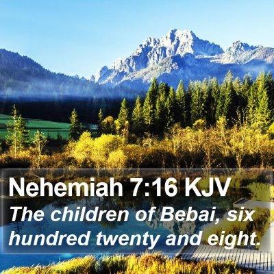 Nehemiah 7:16 KJV Bible Verse Image