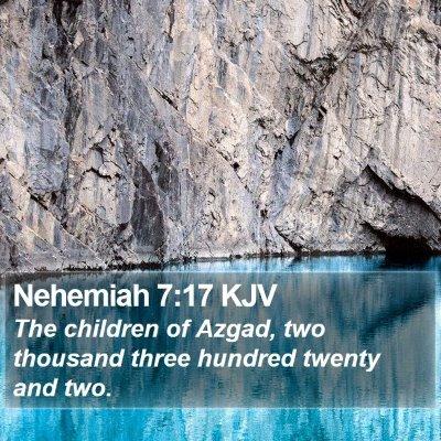 Nehemiah 7:17 KJV Bible Verse Image