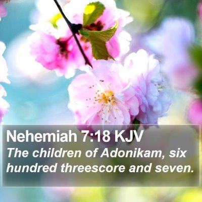 Nehemiah 7:18 KJV Bible Verse Image