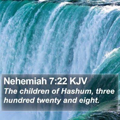 Nehemiah 7:22 KJV Bible Verse Image