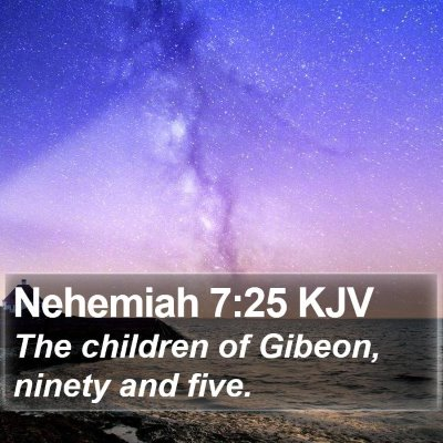 Nehemiah 7:25 KJV Bible Verse Image