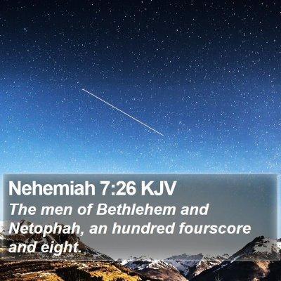 Nehemiah 7:26 KJV Bible Verse Image