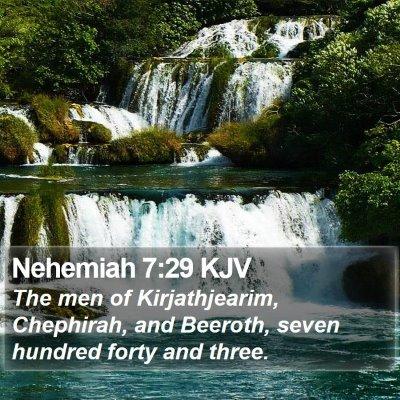 Nehemiah 7:29 KJV Bible Verse Image