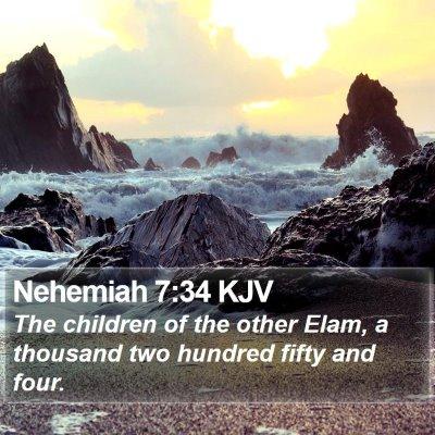 Nehemiah 7:34 KJV Bible Verse Image