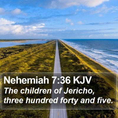 Nehemiah 7:36 KJV Bible Verse Image