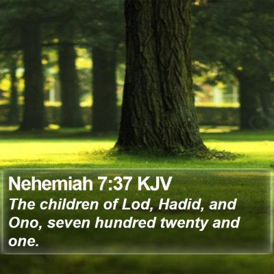 Nehemiah 7:37 KJV Bible Verse Image