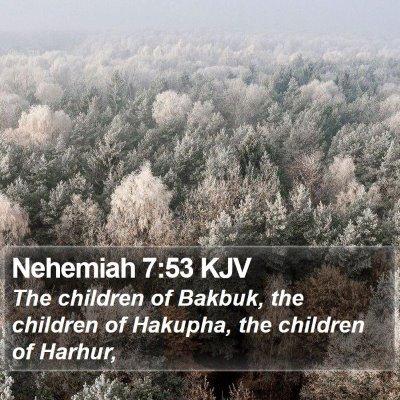 Nehemiah 7:53 KJV Bible Verse Image