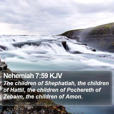 Nehemiah 7:59 KJV Bible Verse Image