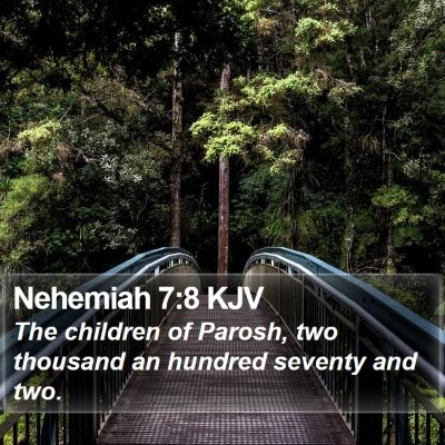 Nehemiah 7:8 KJV Bible Verse Image