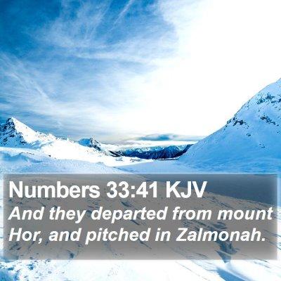 Numbers 33:41 KJV Bible Verse Image