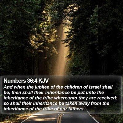 Numbers 36:4 KJV Bible Verse Image