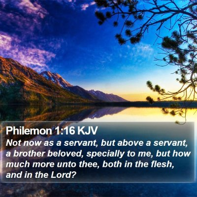 Philemon 1:16 KJV Bible Verse Image