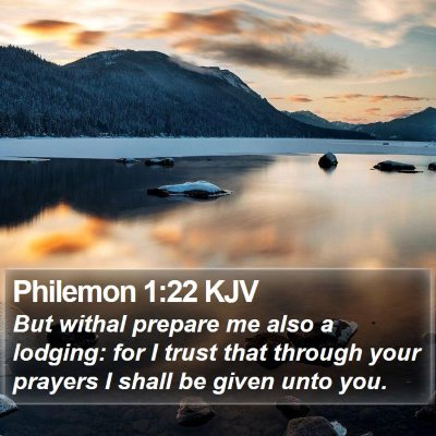 Philemon 1:22 KJV Bible Verse Image