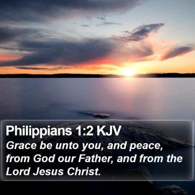 Philippians 1:2 KJV Bible Verse Image