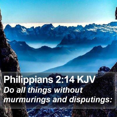 Philippians 2:14 KJV Bible Verse Image