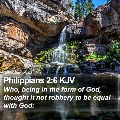 Philippians 2:6 KJV Bible Verse Image