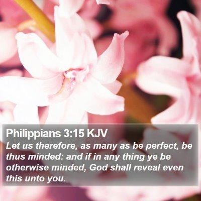 Philippians 3:15 KJV Bible Verse Image