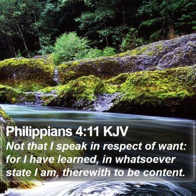 Philippians 4:11 KJV Bible Verse Image