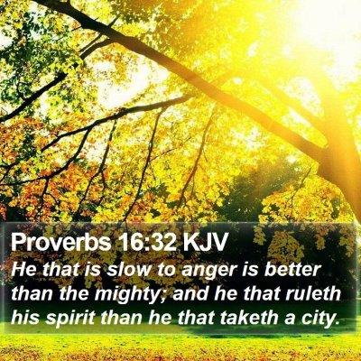 Proverbs 16:32 KJV Bible Verse Image