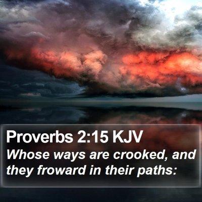 Proverbs 2:15 KJV Bible Verse Image