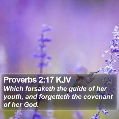 Proverbs 2:17 KJV Bible Verse Image