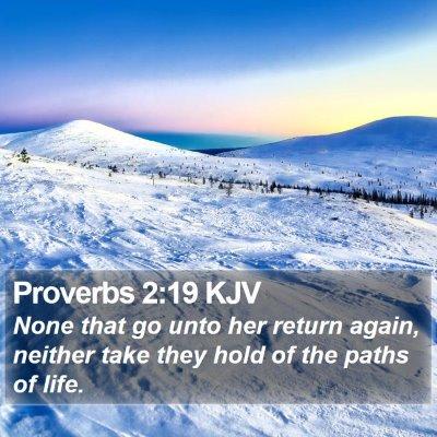 Proverbs 2:19 KJV Bible Verse Image