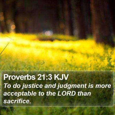 Proverbs 21:3 KJV Bible Verse Image
