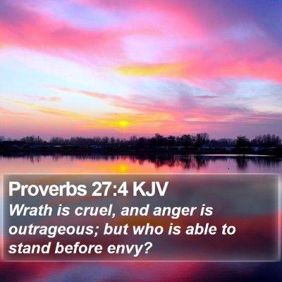 Proverbs 27:4 KJV Bible Verse Image