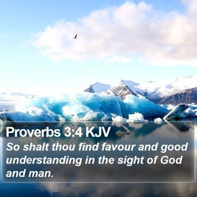 Proverbs 3:4 KJV Bible Verse Image